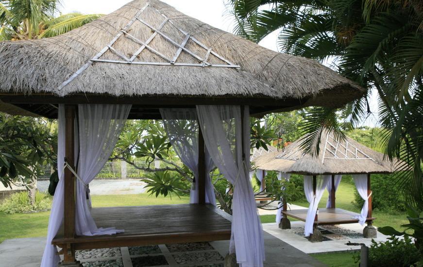 Sekar Nusa Villas Bali - Gazebo untuk bersantai