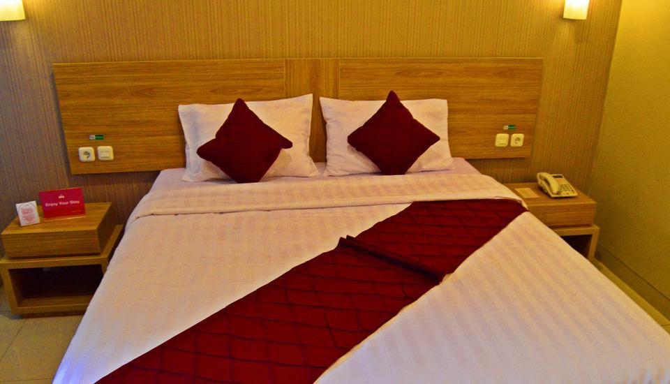 ZenRooms Wadung Asri Surabaya - Tampak tempat tidur double