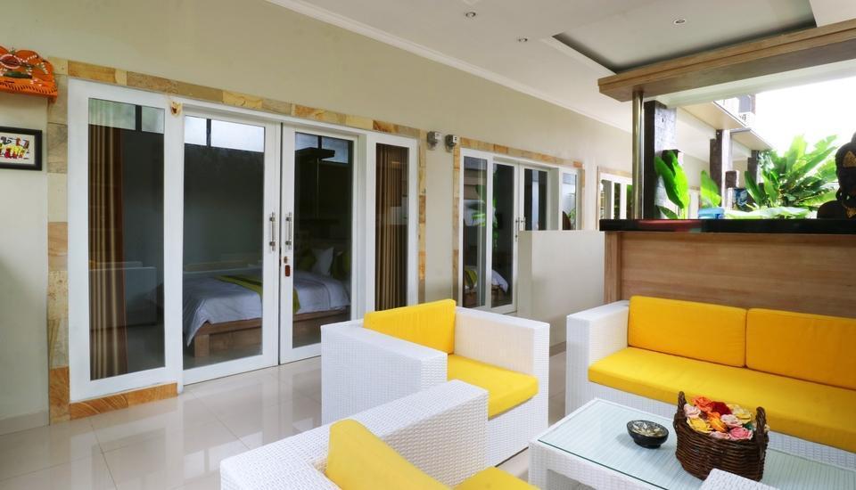 Pulasari Homestay & Villa Bali - Sitting area