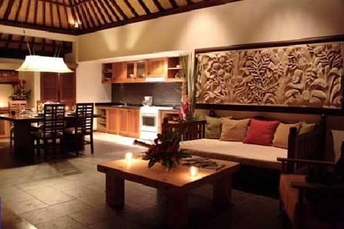 Tis Villa  Seminyak - Ruang Tamu