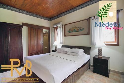 Medewi Bay Retreat Bali - 3 Kamar Tidur, Kamar Utama