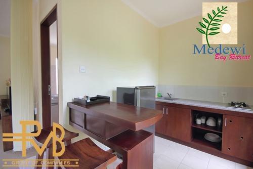 Medewi Bay Retreat Bali - Studio Deluxe, Dapur