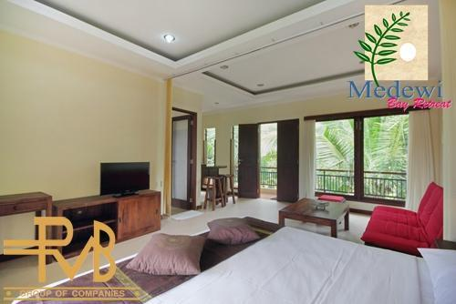 Medewi Bay Retreat Bali - Studio Deluxe, Kamar