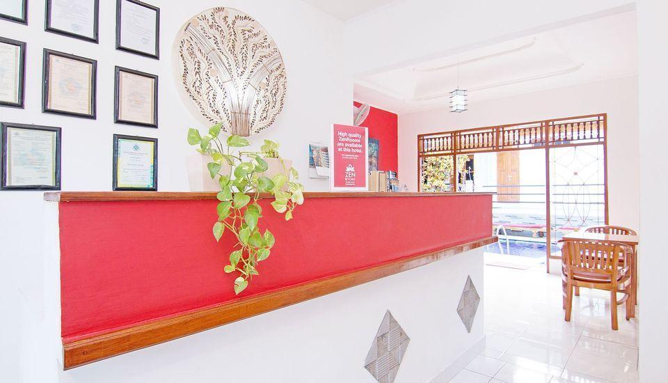 ZenRooms Matahari Lovina Bali - Resepsionis