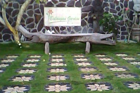 Balangan Garden Bungalow Bali - halaman lobby