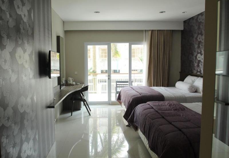 Grand Aquarium Hotel Pangandaran - Kamar tamu