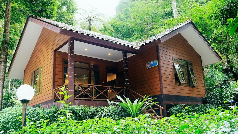 Taman Safari Lodge Cisarua - Bungalow Zebra Suite