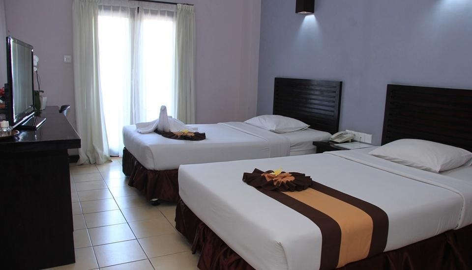 Grand Santhi Hotel Denpasar - Deluxe Room With Breakfast Regular Plan