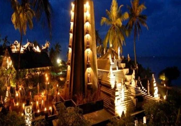 Hotel Tugu Lombok - Tampilan Luar Hotel