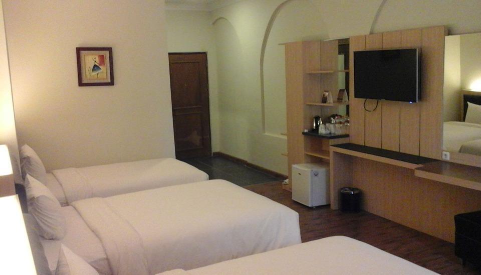 DSalvatore Yogyakarta - tempat tidur Tiga