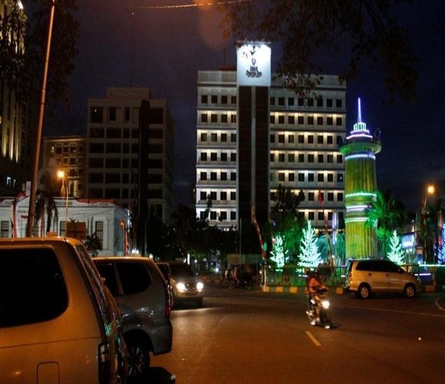 Hotel Inna Dharma Deli Medan - Tampilan Luar Hotel