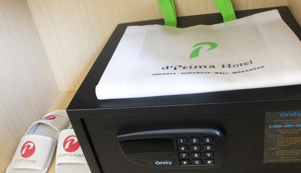 d'primahotel WTC Mangga Dua Jakarta - Safety Box