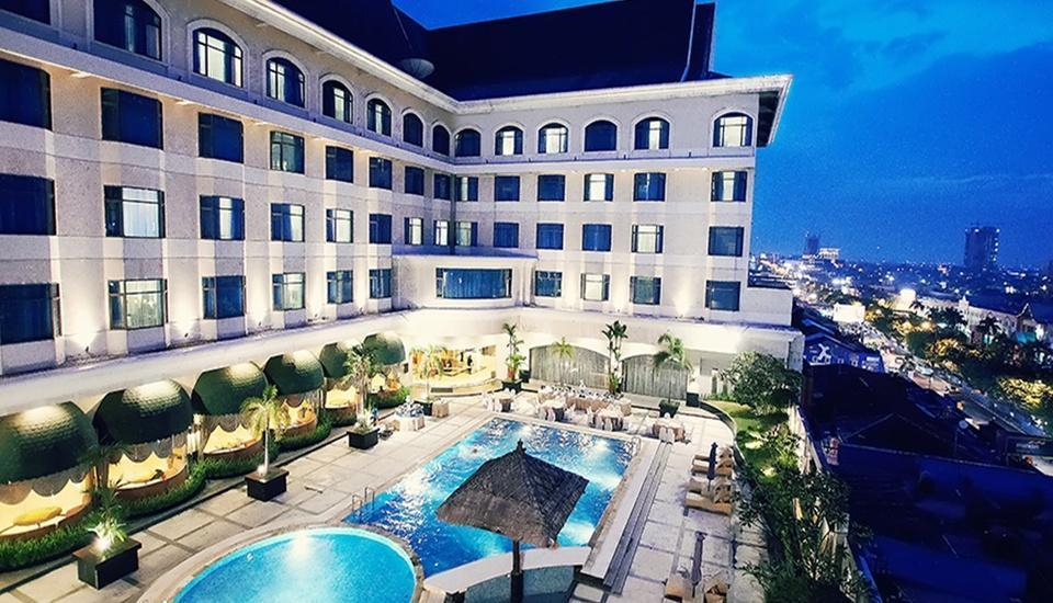 Hotel Grand Jatra Pekanbaru - Kolam Renang