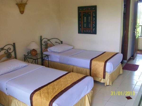 Hotel Taman Sari Sukabumi - Teratai deluxe dengan pemandangan kolam renang