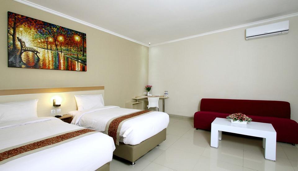 Laxston Hotel Jogja - Eksekutif Twin