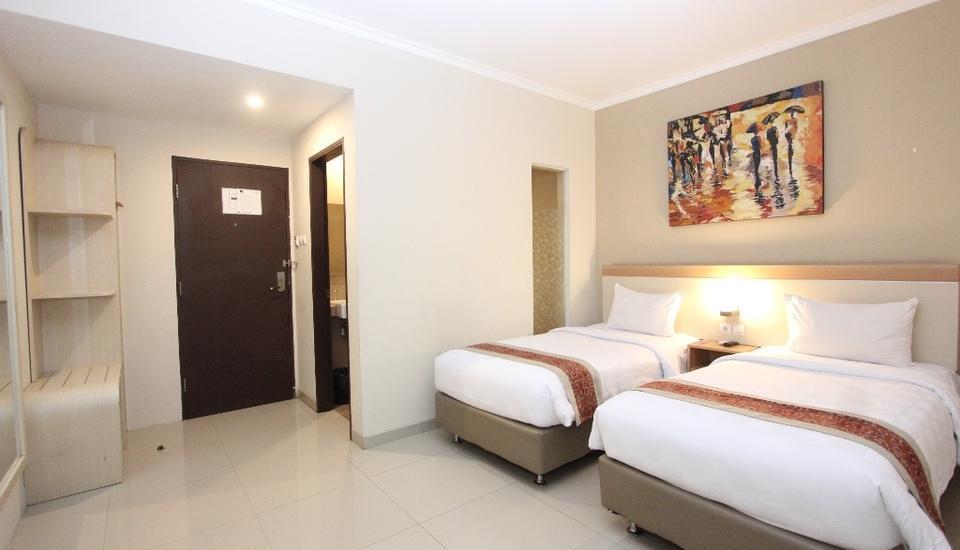 Laxston Hotel Jogja - KAMAR DELUXE TWIN