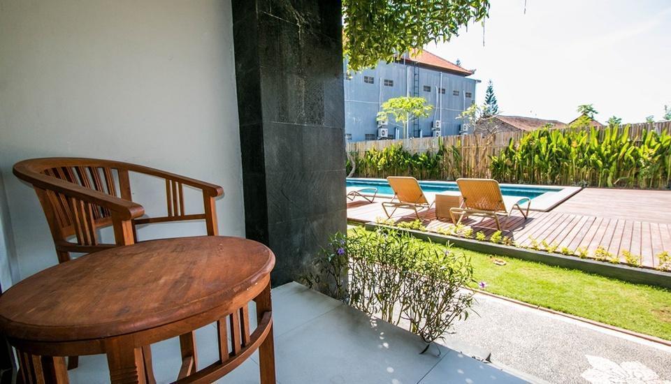 Sri Kandi Inn By Gamma Hospitality Bali - Balcony