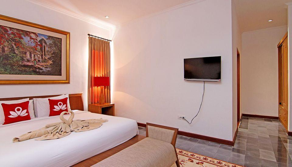 ZEN Rooms Kerobokan Umalas Klecung Bali - kamar tidur