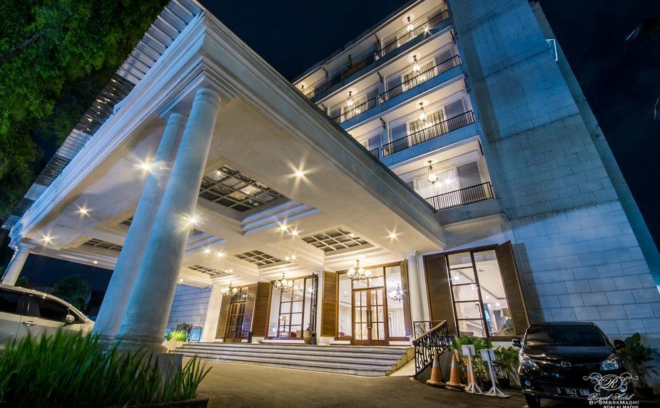Hotel Royal Bogor - Bangunan luar
