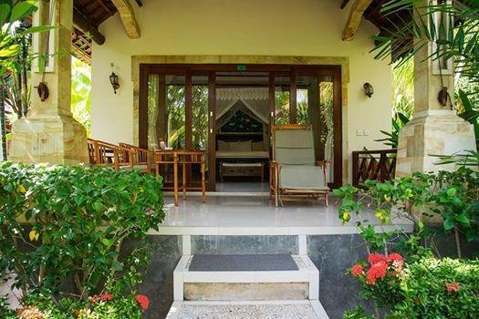 Arya Amed Beach Resort Bali - suite dengan pemandangan kebun