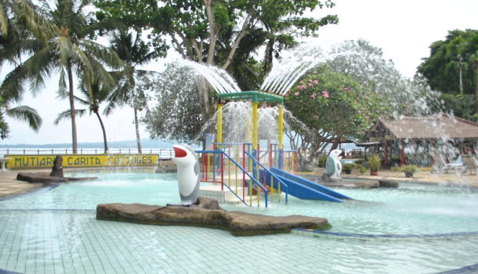 Mutiara Carita Cottages Pandeglang - Taman Air