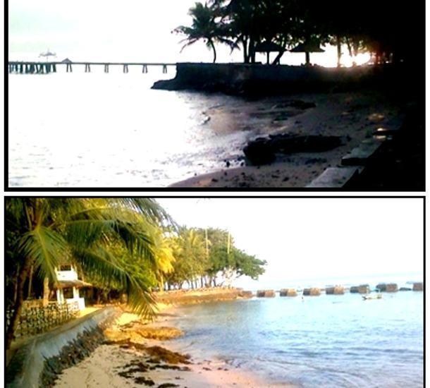 Mutiara Carita Cottages Pandeglang - Pemandangan laut