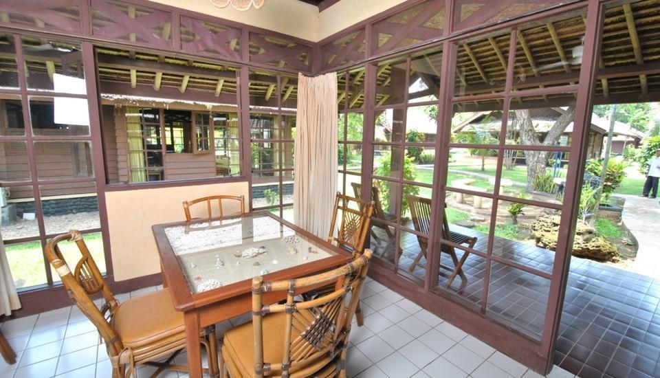 Mutiara Carita Cottages Pandeglang - Ruang makan