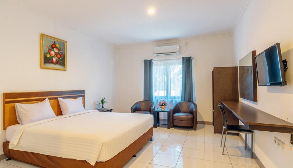 Demuon Hotel Belitung - Deluxe tempat tidur double