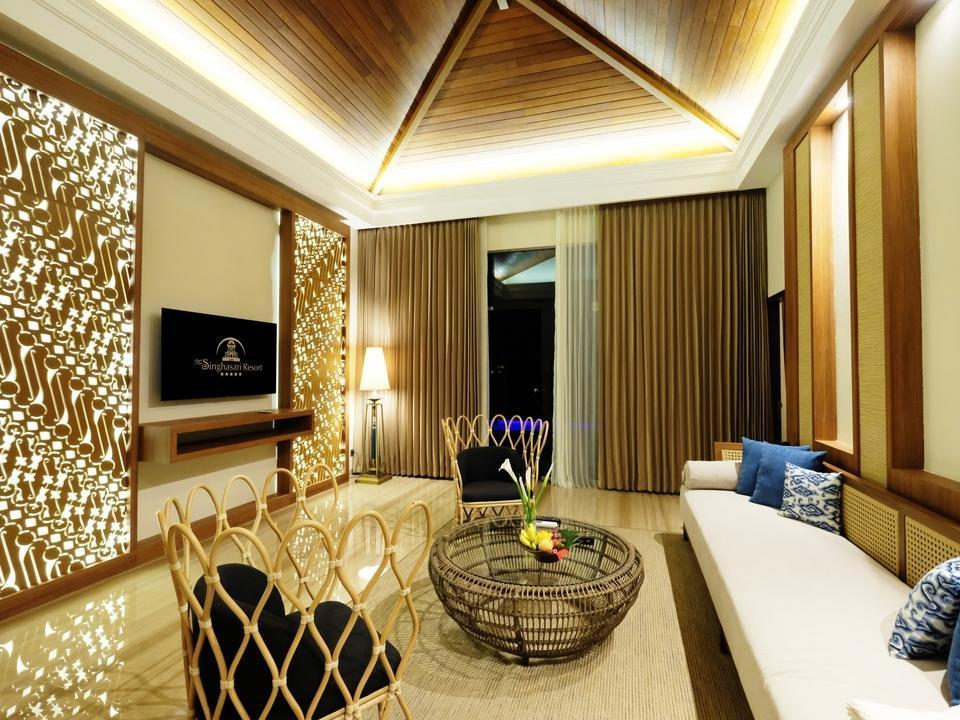 The Singhasari Resort Batu - Living room