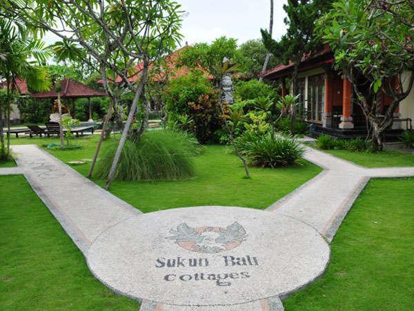Sukun Bali Cottages Bali - Taman tropis