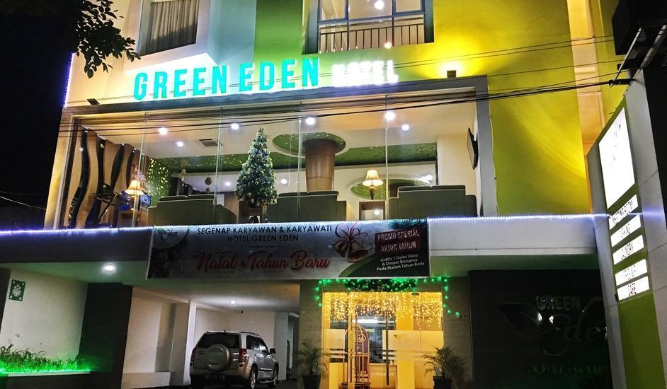 Green Eden Hotel Manado - Tampak depan