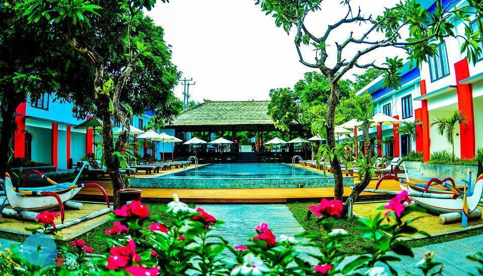 Ozz Hotel Kuta Bali - Ozz Hotel Kuta Bali Garden and Pool
