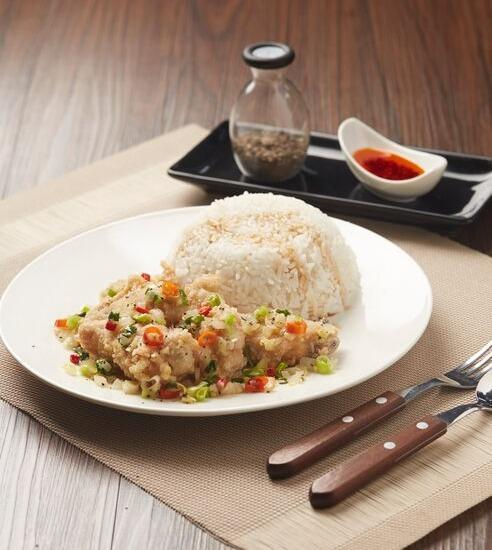 Hotel Nyland Cipaganti - Salt and Papper Chicken