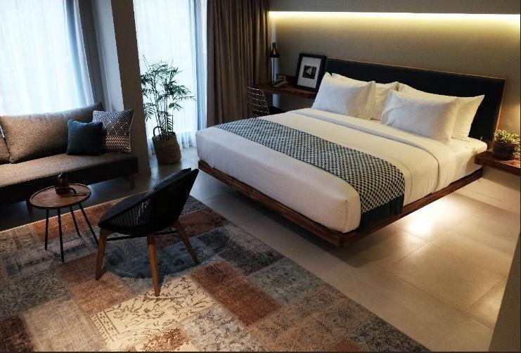 Kollektiv Hotel Bandung - Deluxe Double