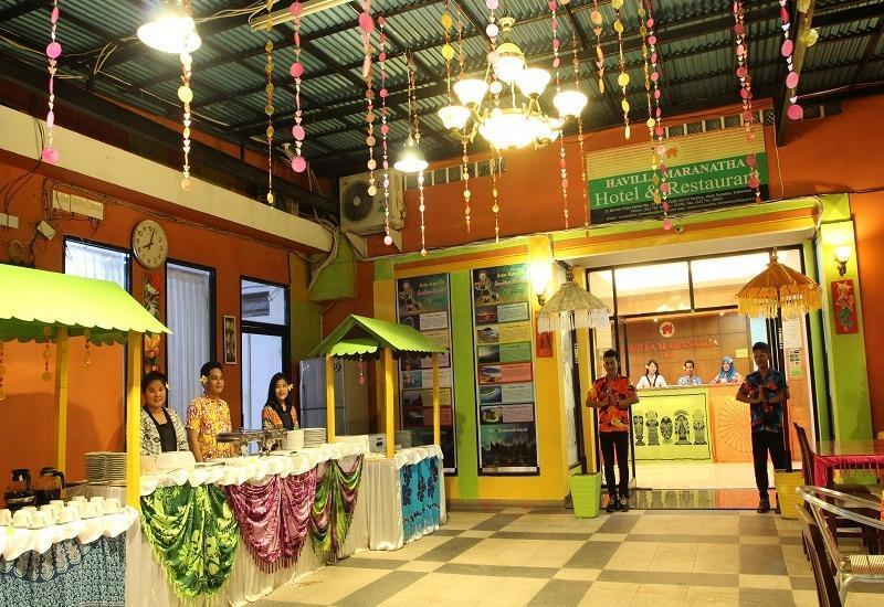 Havilla Maranatha Hotel Padang - Restoran