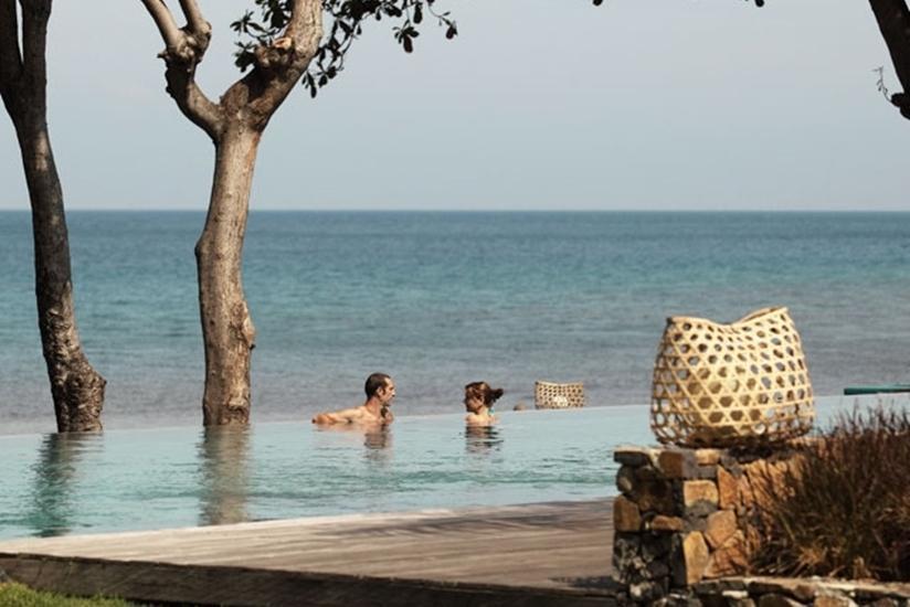 Jeeva Klui Resort Lombok - Kolam Renang