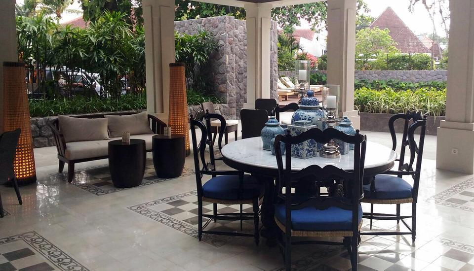 Shalimar Boutique Hotel Malang - Zestien Terrace dan Lounge