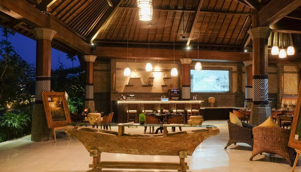Visesa Ubud Resort Bali - Lesung Restaurant