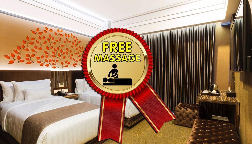 KJ Hotel Yogyakarta Yogyakarta - Superior Twin Rest and Relax Regular Plan