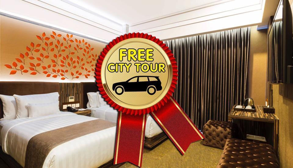 KJ Hotel Yogyakarta Yogyakarta - Superior Twin Stay and Tour Regular Plan