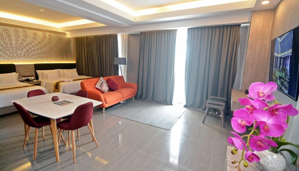 KJ Hotel Yogyakarta Yogyakarta - Family Suite Room include Laundry for 5 pcs Last Minutes 2018