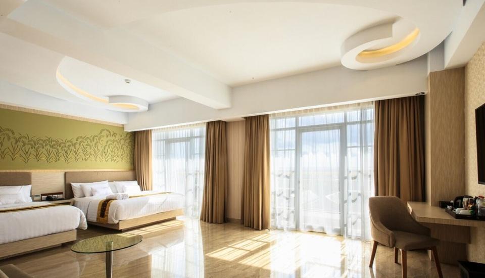 KJ Hotel Yogyakarta Yogyakarta - Family Suite Room include Laundry for 5 pcs Last Minutes 2018