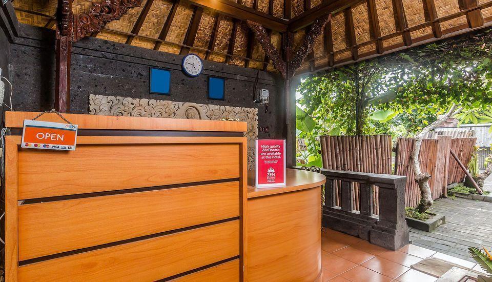 ZenRooms Ubud Singakerta Bali - Resepsionis