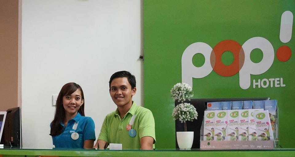 POP! Hotel Sangaji Yogyakarta - Receptions