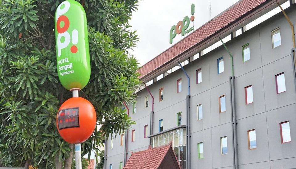 POP! Hotel Sangaji Yogyakarta - Exterior