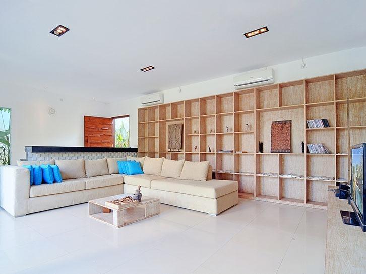 Scene Estate Bali - Ruang tamu