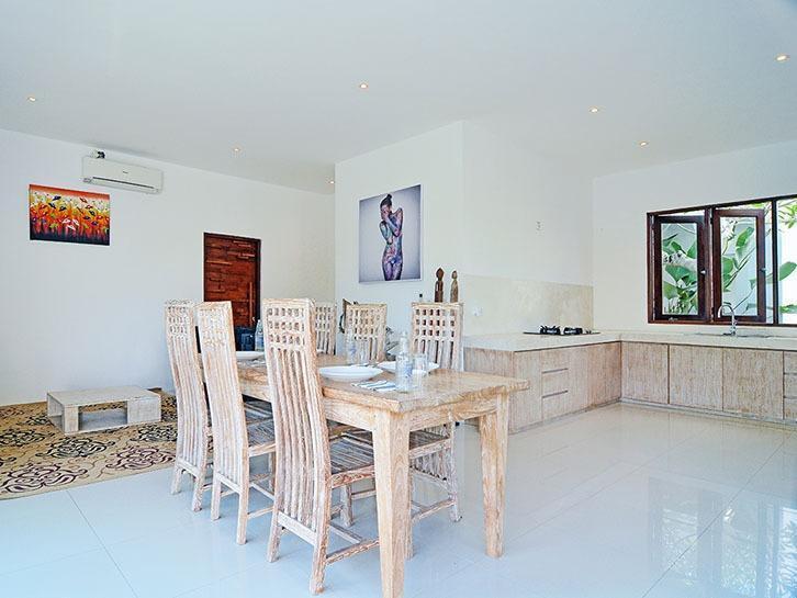 Scene Estate Bali - Ruang makan dan dapur