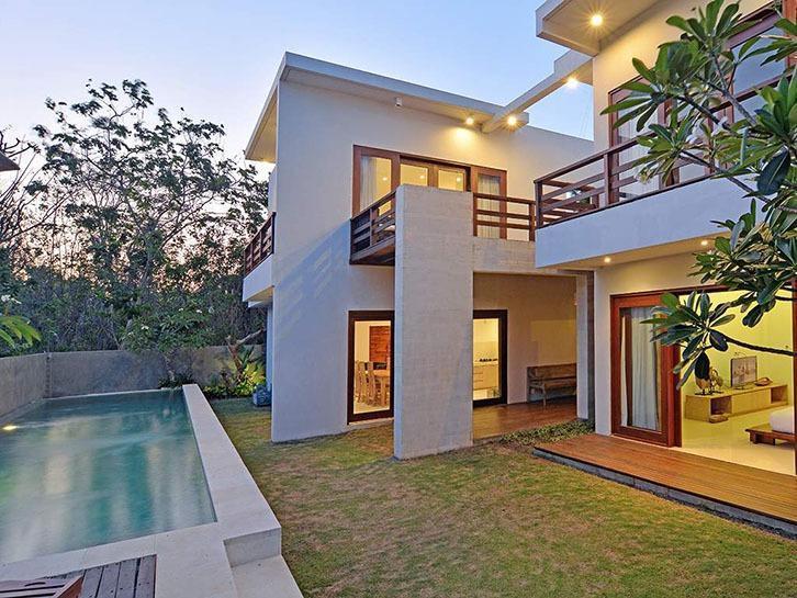 Scene Estate Bali - Kolam renang pribadi dan eksterior