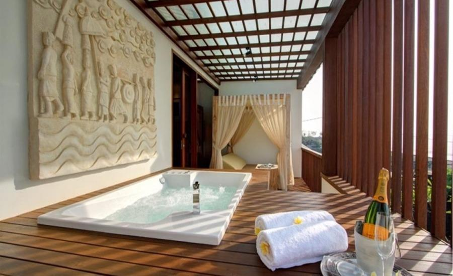 The Royal Purnama Art Suites & Villas Bali - One Bedroom Jacuzzi Sea View Regular Plan