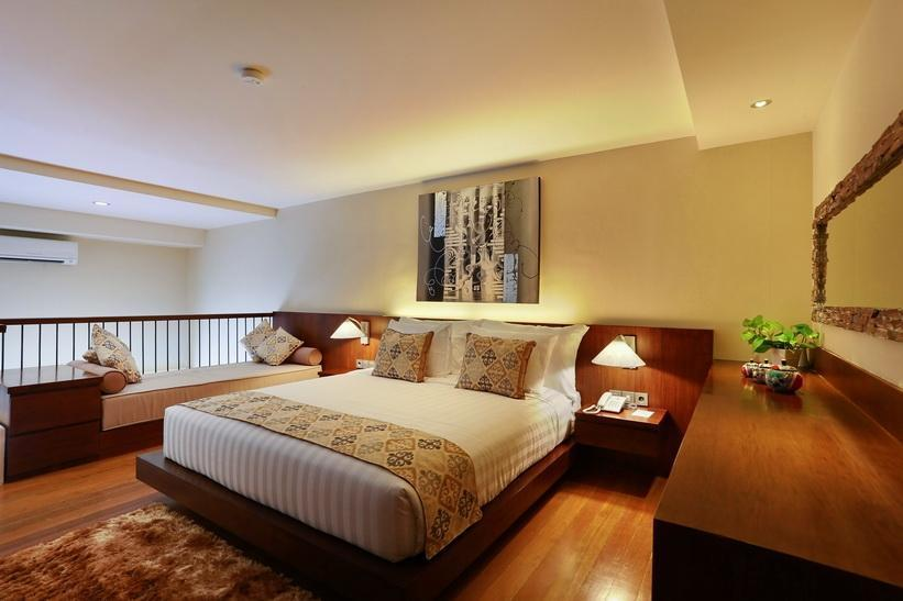 Pandawa All Suite Hotel Bali - Mezzanine Garden Suite Hanya Kamar Regular Plan